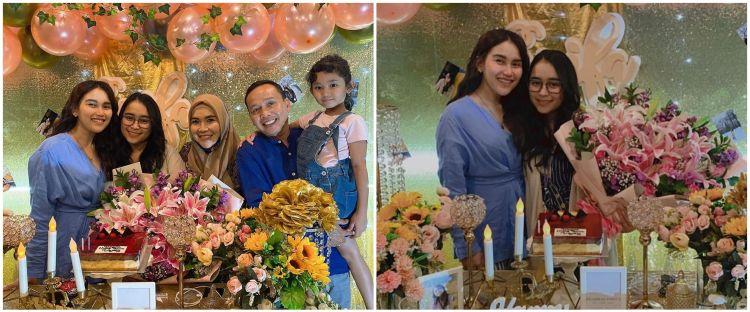10 Momen pesta ultah adik Ayu Ting Ting, meriah & penuh kejutan