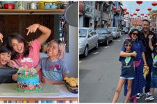 5 Momen ulang tahun ke-8 Elzo anak Nirina Zubir, penuh kehangatan