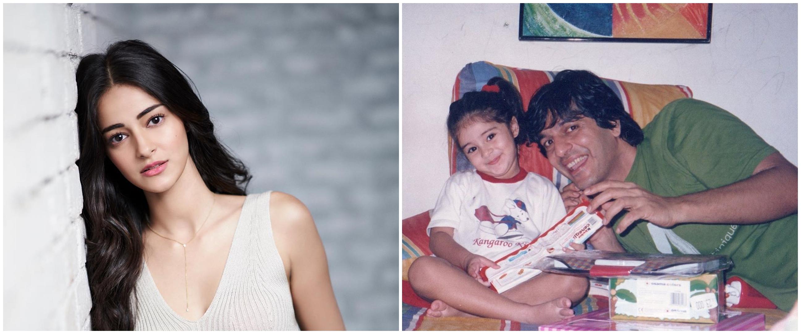 8 Potret masa kecil Ananya Panday, imut dan menggemaskan