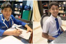7 Potret Betrand Peto ujian sekolah di rumah, penuh perjuangan