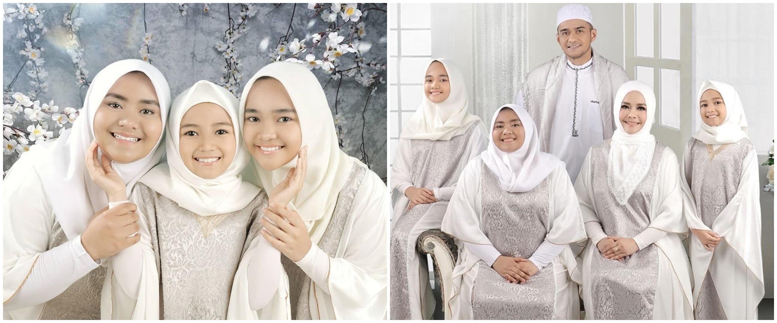 Jarang tersorot, ini 10 pesona tiga putri cantik Iyeth Bustami