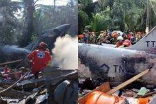 Ini kesaksian warga yang tolong pesawat tempur TNI AU jatuh di Riau