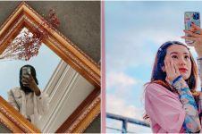 Pose mirror selfie 6 seleb cantik usai fitness, pamer perut rata