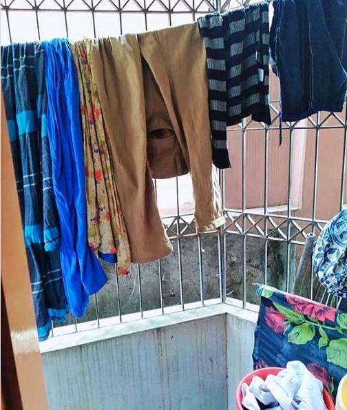 momen absurd jemur pakaian © 2020 brilio.net