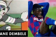 6 Cocoklogi kocak tokoh sepak bola dengan karakter Tom and Jerry