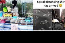 10 Aksi lucu saat social distancing ini bikin tepuk jidat