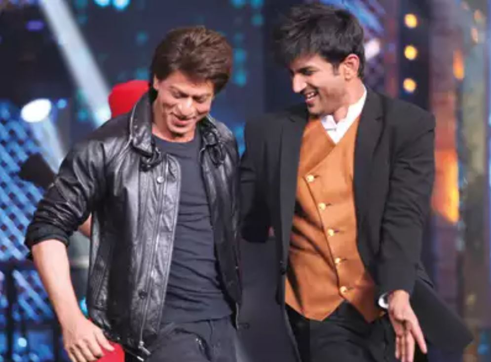 Sushant Singh dan Shahrukh Khan berbagai sumber