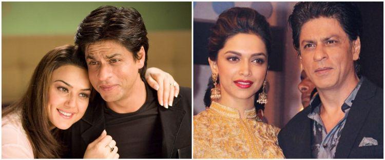 9 Aktris top Bollywood ini saat debut jadi lawan main Shah Rukh Khan