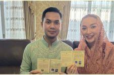 Momen Zaskia Gotik kumpul keluarga Sirajuddin, diberi kue sambutan