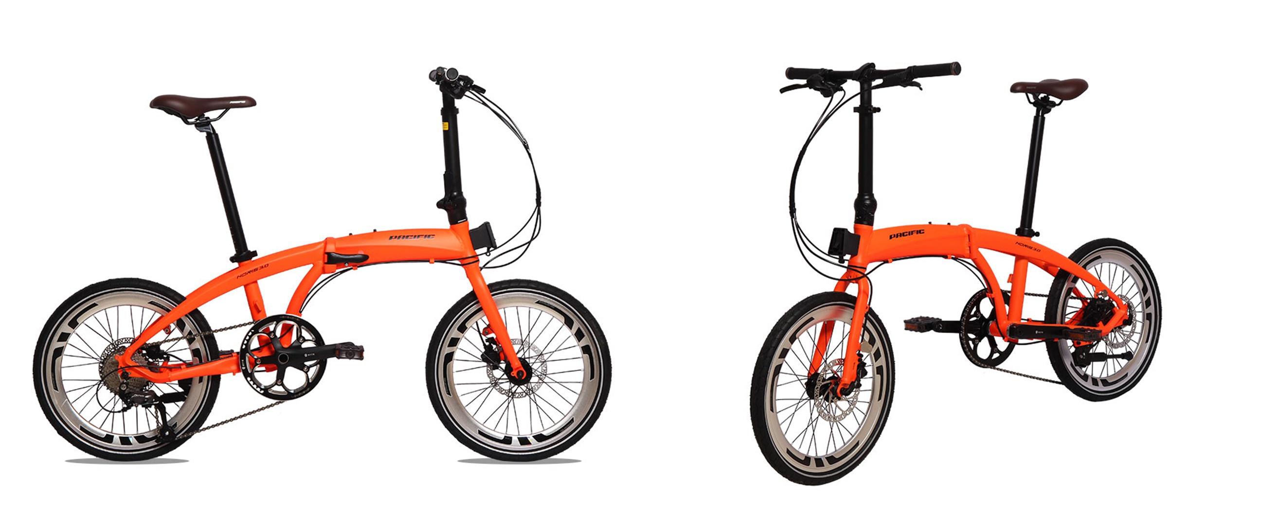 Harga sepeda lipat Pacific Noris 3.0 dan spesifikasi