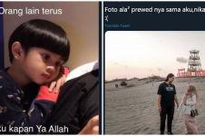 10 Cuitan lucu Tara Basro menikah, netizen patah hati online