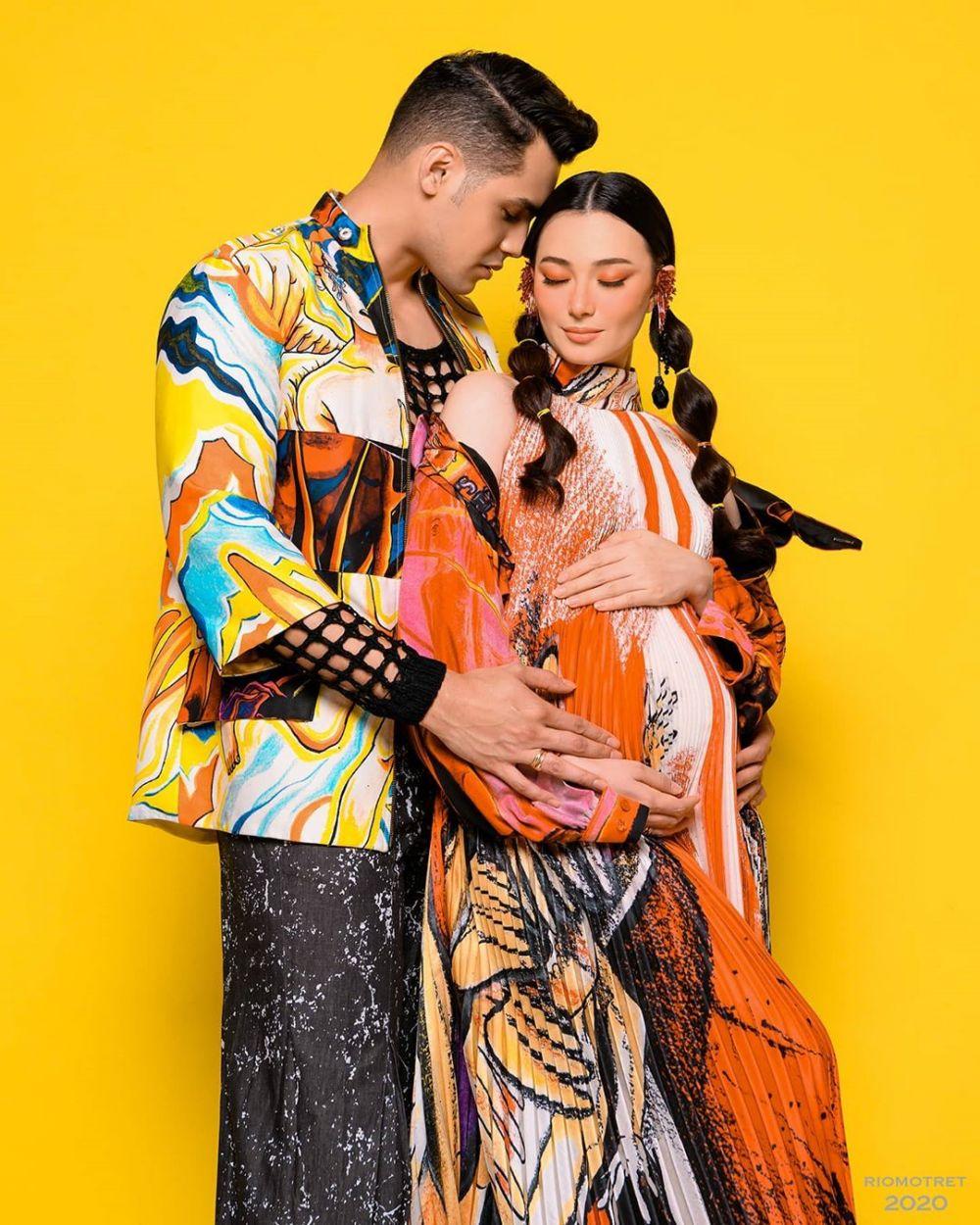 maternity colorful Asmirandah instagram