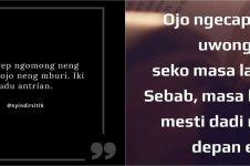 125 Kata-kata sindiran lucu bahasa Jawa dan artinya, bikin nyengir