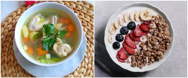 menu bubur   sakit   membuat bubur nasi santan gurih polos gula merah Resepi Bubur Nasi Orang Sakit Enak dan Mudah