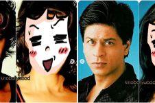 8 Editan foto aktor tampan Bollywood jadi cewek