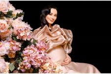 5 Beda gaya pemotretan maternity Asmirandah, bukti makin glowing