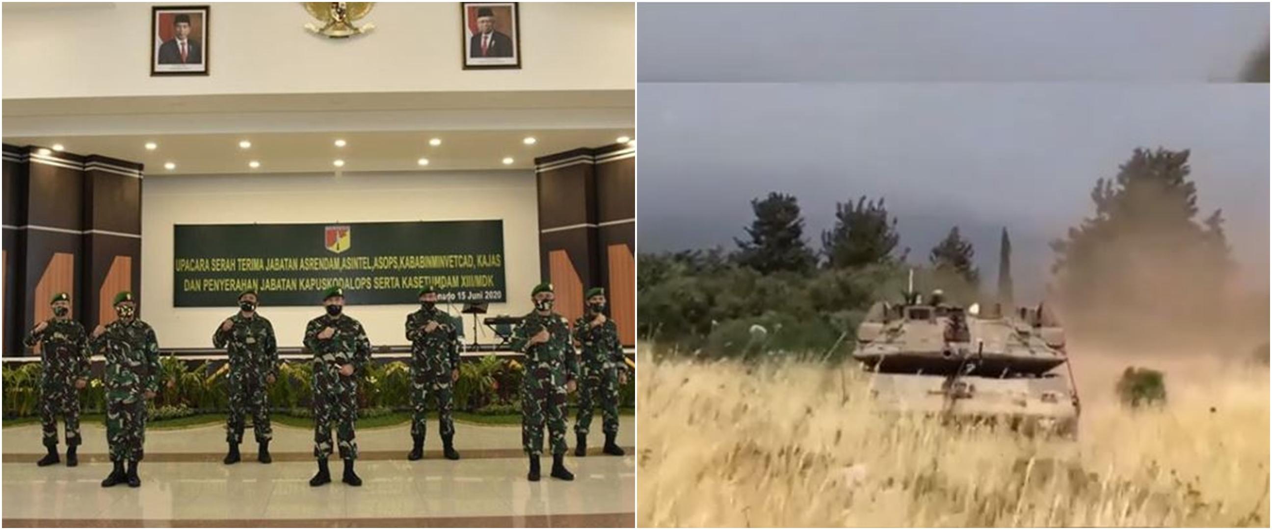 Detik-detik menegangkan prajurit TNI adang tank Israel di Lebanon