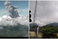 10 Potret detik-detik erupsi Merapi, tinggi kolom capai 6.000 meter