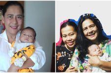 Istri Natana melahirkan, ini 7 potret Lydia Kandou momong cucu kelima