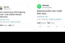 8 Cuitan balada pengguna WhatsApp, pengin left grup tanpa ketahuan