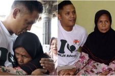 40 tahun terpisah, warga Belanda bertemu ibu kandung di Indonesia
