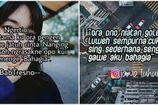 40 Kata-kata bikin baper wanita bahasa Jawa, lucu dan romantis