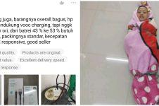 11 Kelakuan absurd cowok kasih penilaian di online shop, kocak