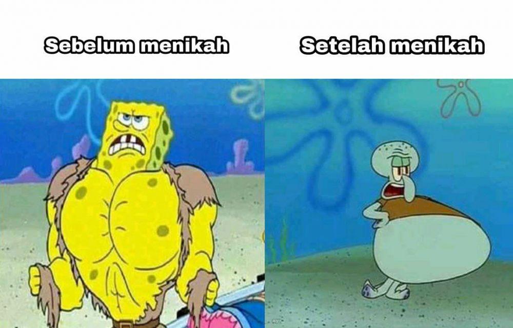 Meme setelah menikah Berbagai sumber