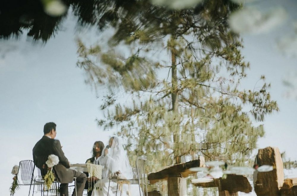 Momen pernikahan Tara Basro dan Daniel Adnan Instagram