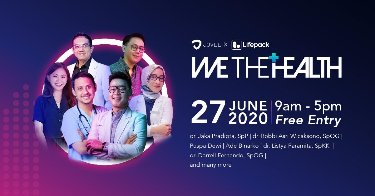 We The Health, konferensi kesehatan digital pertama di Indonesia