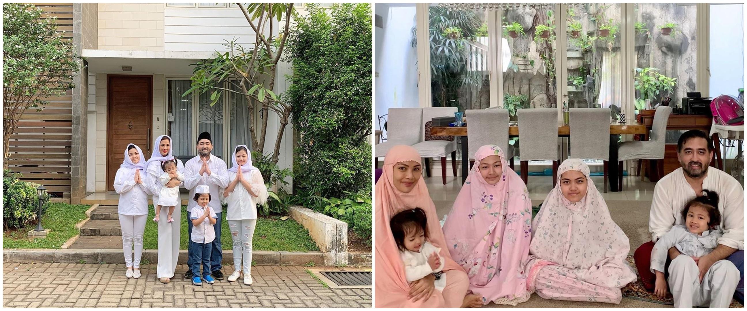 7 Penampakan rumah Nadia Mulya, minimalis dengan nuansa putih