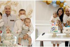 7 Potret ulang tahun Sudais dan Suhail, cucu kembar Jusuf Kalla