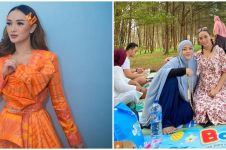 5 Momen akrab Zaskia Gotik bareng kakak ipar, dapat hadiah branded