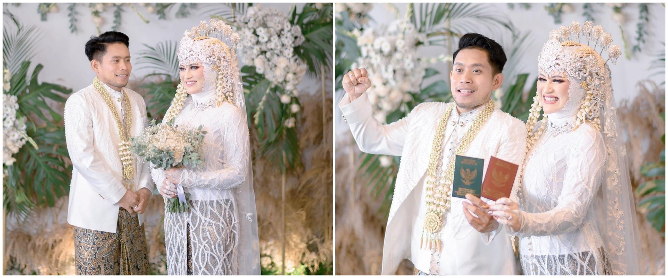 10 Momen pernikahan Andik Vermansyah & Silvia Anggun, sakral & syahdu