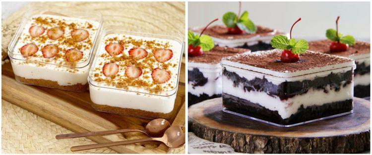 12 Resep dessert box kekinian, enak dan mudah dibuat