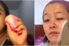 10 Potret orang makeup dengan alat seadanya, lucu tapi kreatif