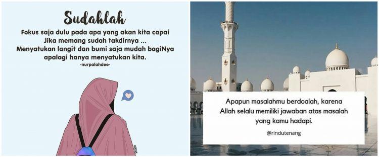 50 Kata-kata mutiara Islami penyejuk hati dan antigalau