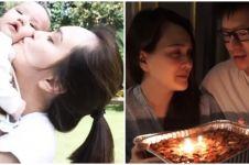 10 Momen bahagia Shandy Aulia ulang tahun pertama sebagai ibu