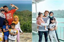 7 Seleb pergi liburan saat new normal, ada yang sekalian honeymoon