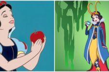 Ilustrasi 13 putri Disney jadi karakter superhero, keren abis