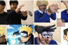 10 Cosplay low budget karakter cowok di anime, hasilnya kocak
