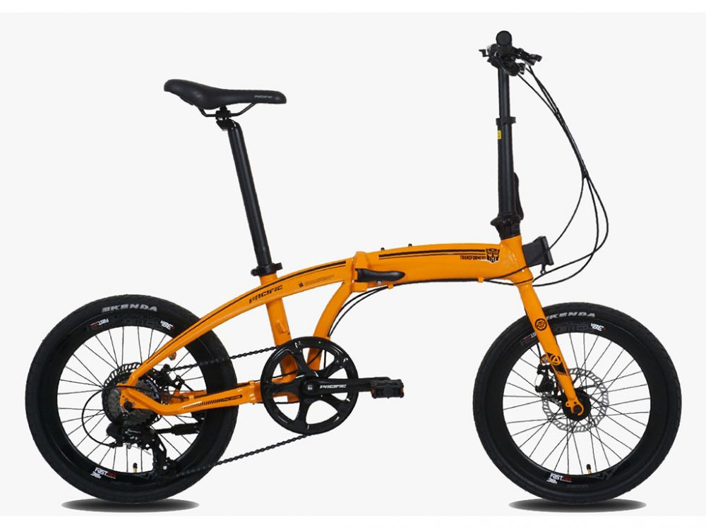 Harga sepeda lipat Pacific Noris dan spesifikasinya