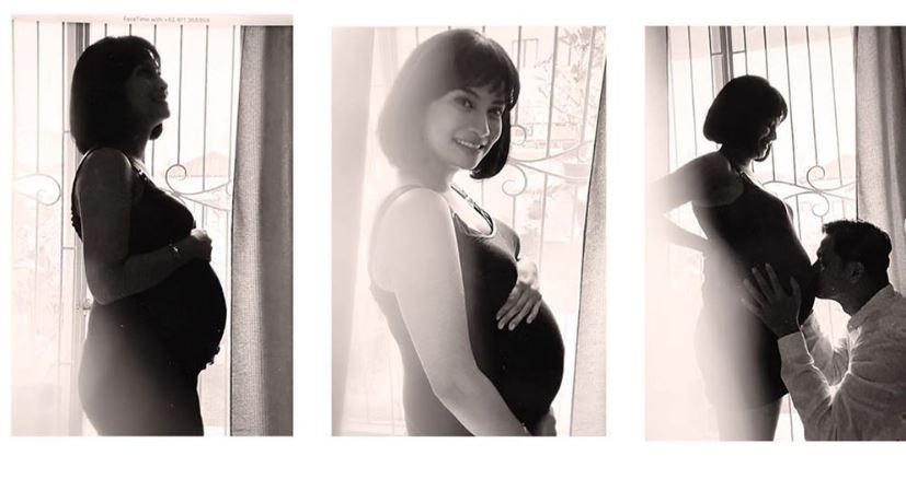 5 Pemotretan maternity Vanessa Angel dan suami, pesonanya terpancar