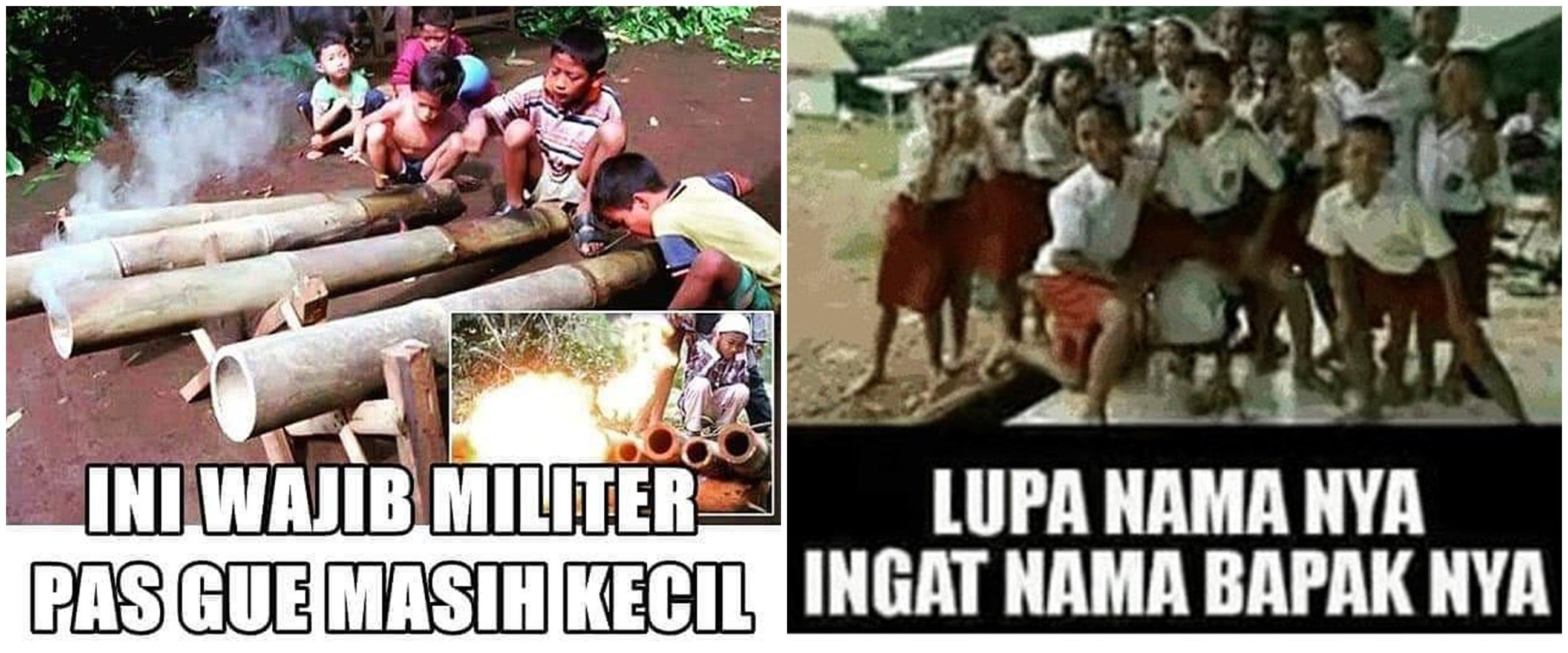 10 Meme lucu pengalaman anak zaman dulu ini bikin nostalgia