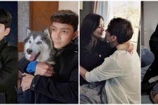 8 Aksi kocak John Pantau tiru adegan drama Korea, bikin ngakak