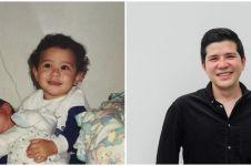 7 Potret Haykal Kamil sewaktu kecil, mirip wajah putrinya