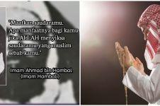 40 Kata-kata bijak Imam Hambali, jadi renungan hidup