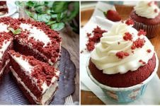 10 Resep kreasi kue red velvet, lembut, bikin nagih dan bisa dijual