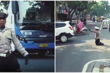 Kisah Ahmad Junaedi, pria difabel sukarela atur lalu lintas
