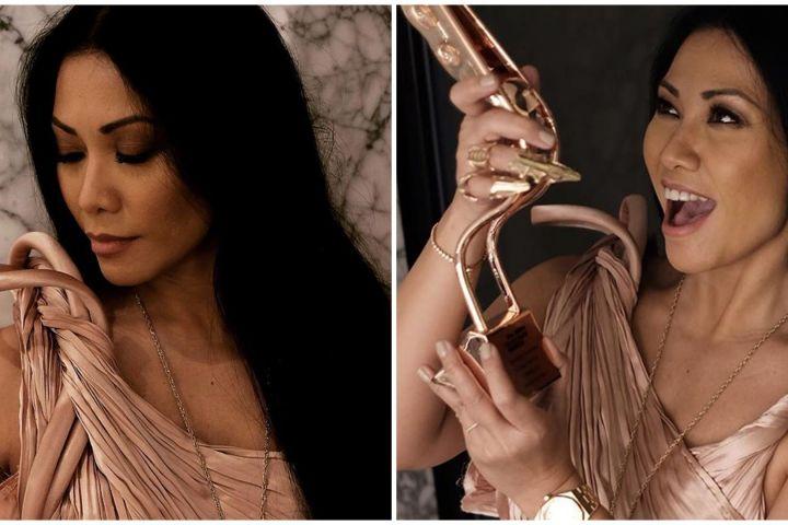 Anggun C Sasmi masuk 100 artis favorit Prancis, orang Asia pertama